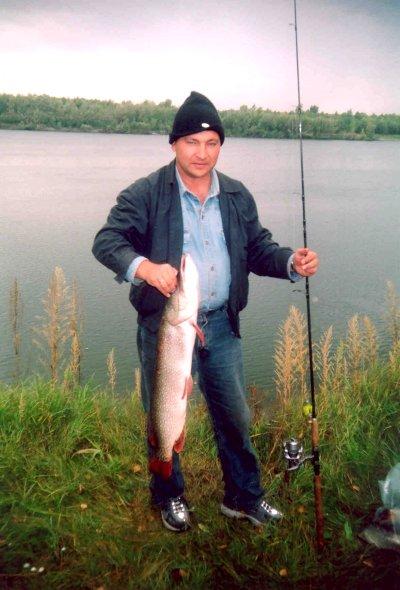 первая рыбалка на оби